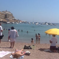 Photo taken at St. George's Bay by Nastya 🐯 D. on 7/7/2012