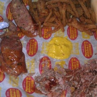 Photo taken at Dickey's Barbecue Pit by Patrick G. on 7/24/2012