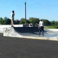 Photo taken at Clapham Skate Park by Sonali F. on 5/26/2012