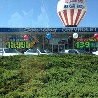 Photo taken at Courtesy Chevrolet by Bill K. on 7/9/2012