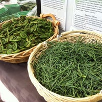 Photo taken at Dufferin Grove Farmers' Market by Val on 5/31/2012