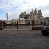 Photo taken at BAPS Shri Swaminarayan Mandir by Nick B. on 4/15/2012