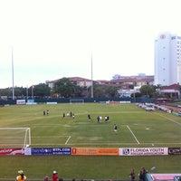 Photo taken at FC Tampabay Soccer by Sunje S. on 4/14/2012