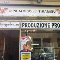 Photo taken at il Paradiso del Tiramisù by Matteo M. on 6/28/2012