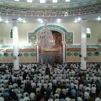 Photo taken at Masjid Agung Al-Makmur by Akbar D. on 8/19/2012