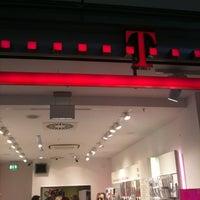 Photo taken at Telekom Shop by Robert M. on 5/30/2012