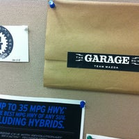 Photo Taken At The Garage Team Mazda By Daisy P. On 3/8/ ...