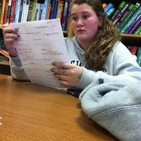 Photo taken at Arapahoe High School by Jade N. on 3/22/2012