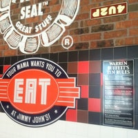 Photo taken at Jimmy John's by Samantha Z. on 3/30/2012
