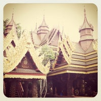 Photo taken at Wat Sangkhathan by Somchai D. on 8/3/2012