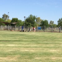 Photo taken at Chaparral Dog Park by Shallana E. on 6/16/2012