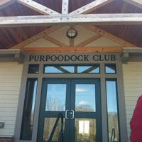 Photo taken at Purpoodock Golf Club by Hollie C. on 3/18/2012
