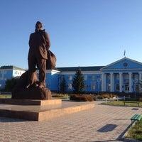 Photo taken at Площадь Курчатова by Nikita S. on 9/9/2012
