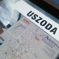 Photo taken at Uszoda - Buszmegálló (Eger) by Bela B. on 4/20/2012