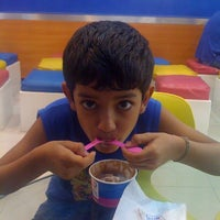 Photo taken at Baskin Robbins at EA by Bhuvaneswari S. on 9/1/2012