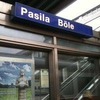 Photo taken at VR Pasila by Teemu P. on 4/24/2012
