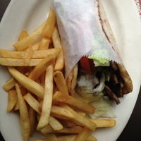 Photo taken at Zorba's Souvlaki Plus by Ian O. on 7/21/2012