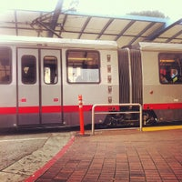 Photo taken at West Portal MUNI Metro Station by Ohad B. on 8/12/2012