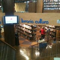 Photo taken at Livraria Cultura by John L. on 2/21/2012