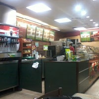 Photo taken at Subway by Andrew S. on 8/30/2012