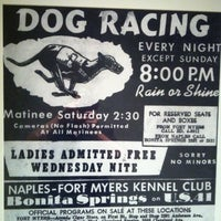 Photo taken at Naples-Fort Myers Greyhound Racing and Poker by Jim O. on 3/8/2012
