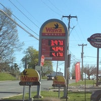 Photo taken at Wawa by Matt K. on 4/6/2012