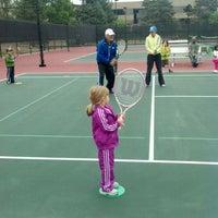 Photo taken at Gates Tennis Center by FederNation on 5/12/2012