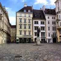 Photo taken at Judenplatz by Luis P. on 4/1/2012