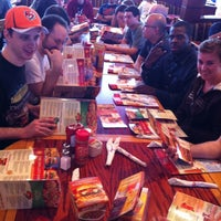 Photo taken at Red Robin Gourmet Burgers by Keaven F. on 5/11/2012