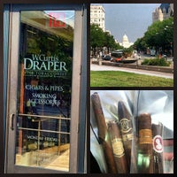 Photo taken at W. Curtis Draper Tobacconist by FineTobacco N. on 8/17/2012