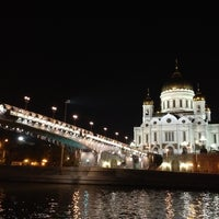 Photo taken at Patriarshiy Bridge by Armine P. on 9/13/2012