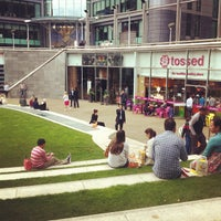 Photo taken at Sheldon Square by Kevin Y. on 7/13/2012
