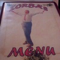 Photo taken at Zorba's Tavern by Will G. on 8/11/2012