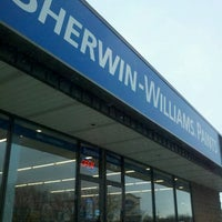Photo taken at Sherwin-Williams Paint Store by Courtney B. on 2/13/2012