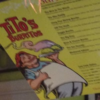 Photo taken at Tito's Burritos & Wings by Donald Byrd O. on 2/12/2012