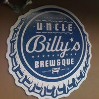 Photo taken at Uncle Billy's Brew & Que by Katie G. on 1/8/2011