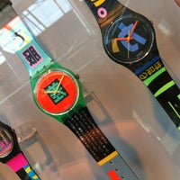 Photo taken at Swatch Permanent Exhibition by Nati E. on 3/26/2012