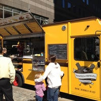 Photo taken at Food Truck Court by Andre W. on 3/14/2012