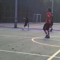 Photo taken at Lapangan futsal persada golf by Renie on 11/12/2011
