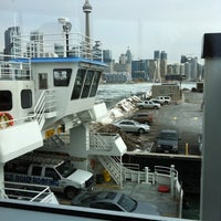Photo taken at Billy Bishop Toronto City Airport Ferry by Tammi L. on 3/7/2011