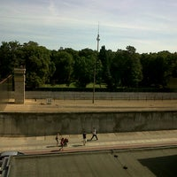 Photo taken at Berlin Wall Memorial by Rigo P. on 8/18/2012