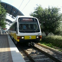 Photo taken at Parker Road Station (DART Rail) by Aaron P. on 5/20/2012