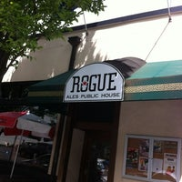 Photo taken at Rogue Ales Public House & Distillery by Joshua D. on 5/23/2012