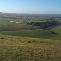 Photo taken at Dunstable Downs by Heather M. on 1/14/2012