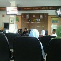 Photo taken at Kantor PT Askes by Tertius M. on 9/8/2011