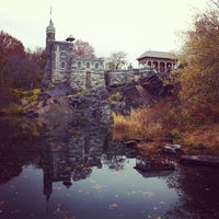 Photo taken at Belvedere Castle by Justin A. on 11/16/2011
