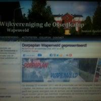 Photo taken at Wijkvereniging de Ossenkamp by Hans-Willem H. on 12/18/2011