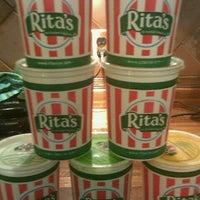 Photo taken at Rita's Ice Custard Happiness by Luis C. on 10/4/2011
