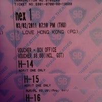Photo taken at Shaw Theatres by Ying C. on 2/3/2011