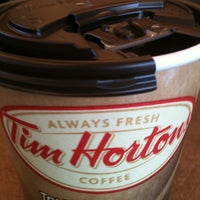 Photo taken at Tim Hortons by William F. on 5/11/2012